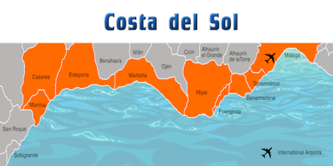 Costa del Sol location guide